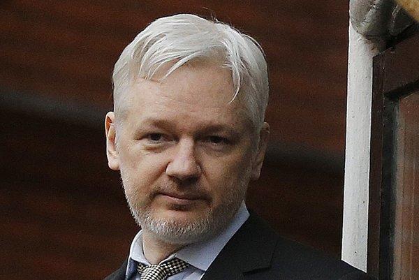 Zakladateľ webu WikiLeaks Julian Assange.