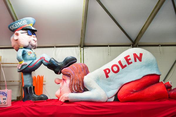 Na nemeckom karnevale prirovnali Kaczyńského k diktátorovi.