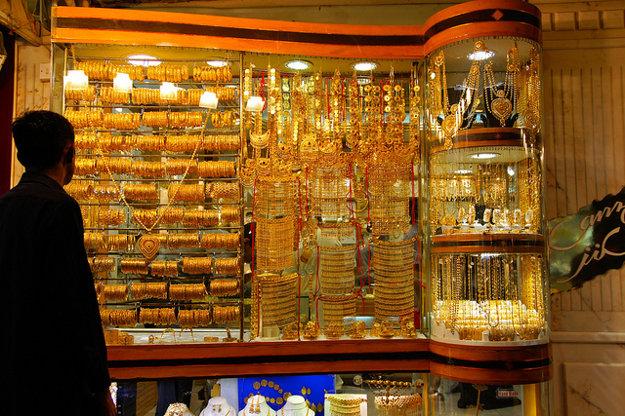 Cena zlata je v Dubaji nízka.