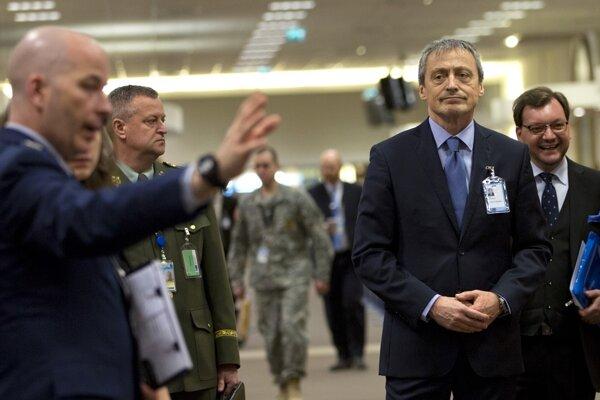 Stretnutie ministrov obrany NATO v Bruseli.