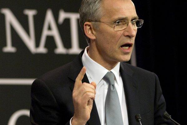 Generálny tajomník Severoatlantickej aliancie Jens Stoltenberg.