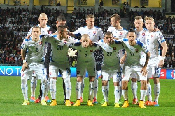Slovenská futbalová reprezentácia.