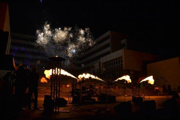 Záverečný koncert k mestskej slávnosti v roku 2016.