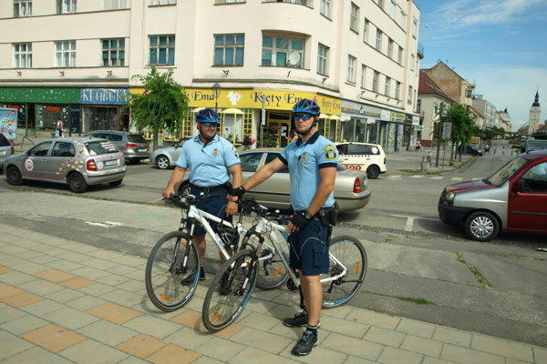 Cyklohliadka v Trnave.