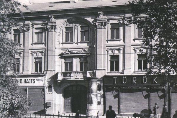 Budova dodnes známa ako Čierny orol bola v minulosti aj sídlom polície.
