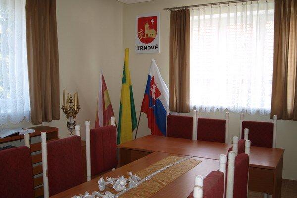 Nová poslanecká miestnosť.