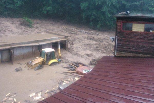 Minuloročná povodeň vo Vrátnej doline.