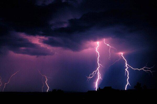 Platia výstrahy pred búrkami.