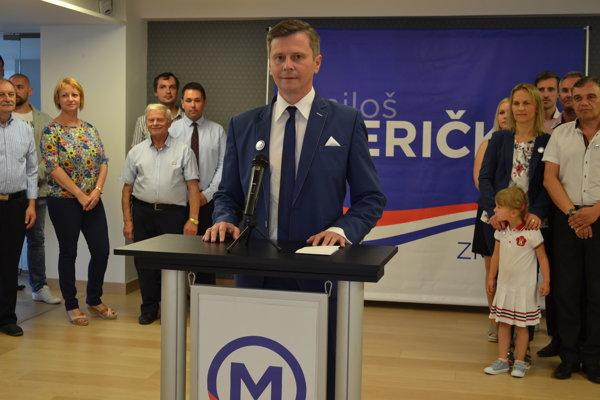 Miloš Meričko ohlásil kandidatúru na post primátora Humenného.