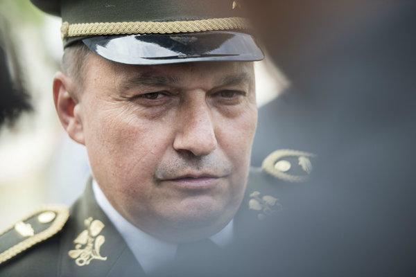 Náčelník generálne štábu Daniel Zmeko.