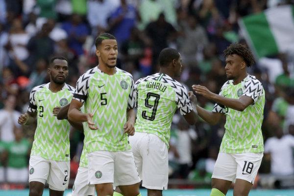 Futbalisti Nigérie, ilustračná snímka.