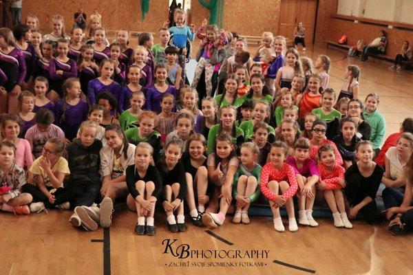 V oravskej obci sa stretla stovka mladých gymnastiek.