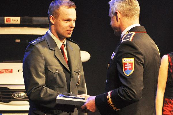 Ocenený Vladimír Farský.