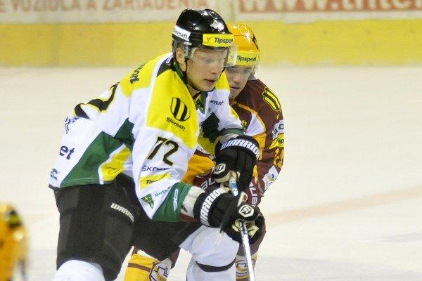 Ivan Dornič si v žilinskom drese pripísal len jeden kanadský bod.