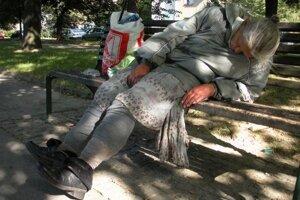 Len v Žiline je okolo 100 až 150 ľudí bez domova.