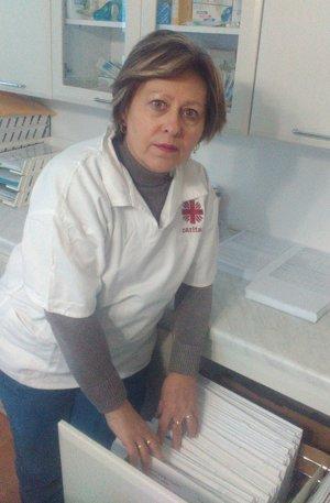 Daniela Baníková-Baštigálová  v práci.