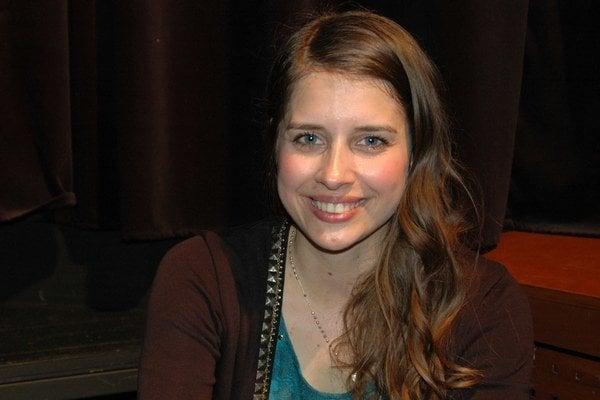 Speváčka Simona Martausová.