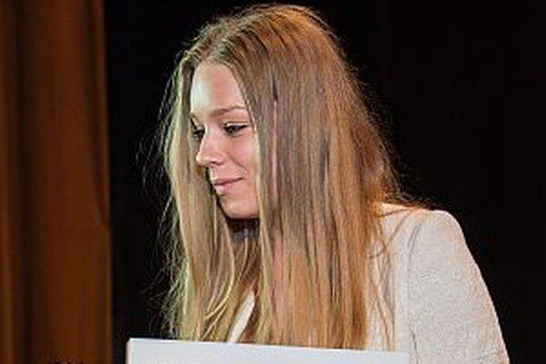 Lucia Pavlíková sa stala víťazkou v kategórii hudobno-tanečné umenie.