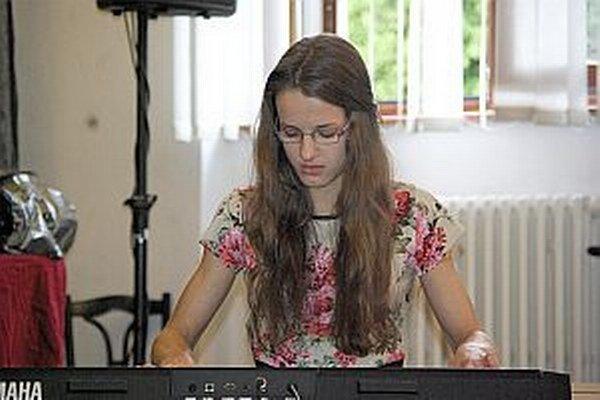 Janka Rišová z usporiadateľskej školy sa stala víťazkou jednej kategórie.