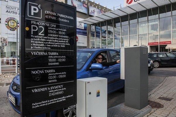 Informácie o platení za parkovanie by mali byť podľa obchodnej inšpekcie úplné.