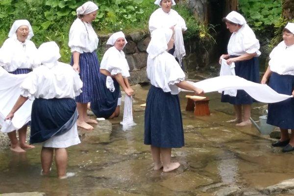 Skanzen bude od 13.30 hodiny patriť zvykom a tradíciám pri praní.