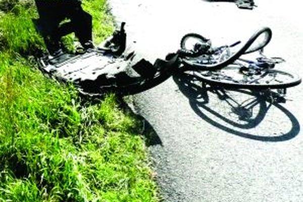 František H. cestou na bicykli skoro prišiel o život. Ilustračné foto.