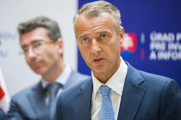 Podpredseda vlády Slovenska pre investície a informatizáciu Richard Raši.