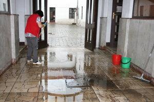 Spišské Vlachy - voda v úrade