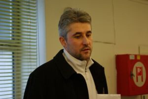 Predseda LOZ v Žiline Peter Blaško