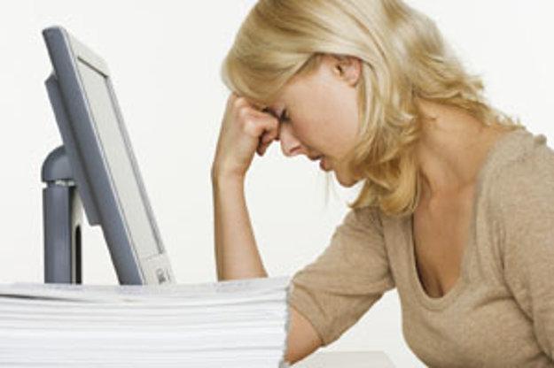 Chronický únavový syndróm postihuje najčastejšie ženy vo veku 25 až 45 rokov.