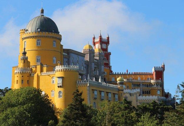 Palácio da Pena v Sintre