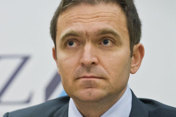 Viceguvernér NBS Ľudovít Ódor.