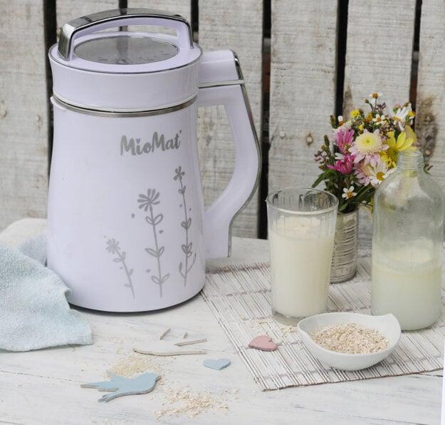 MioMat vznikol ako výrobník na rastlinné mlieko.