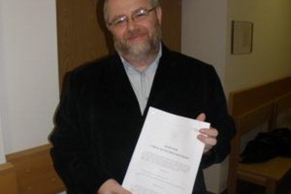 Peter Ničík s rozsudkom. Horeckému ospravedlnenie, ani 50-tisíc eur nedlží.