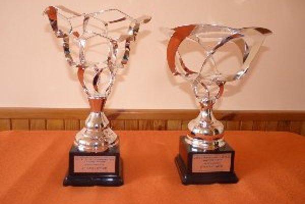 Víťazné trofeje.