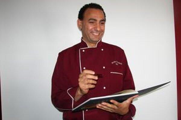 Svetoznámy kuchár, Egypťan Reda Doud, zvaný Kuku.