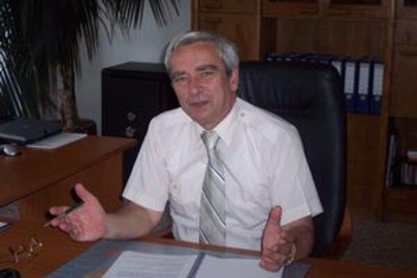 Riaditeľ dopravného podniku Igor Gubala.
