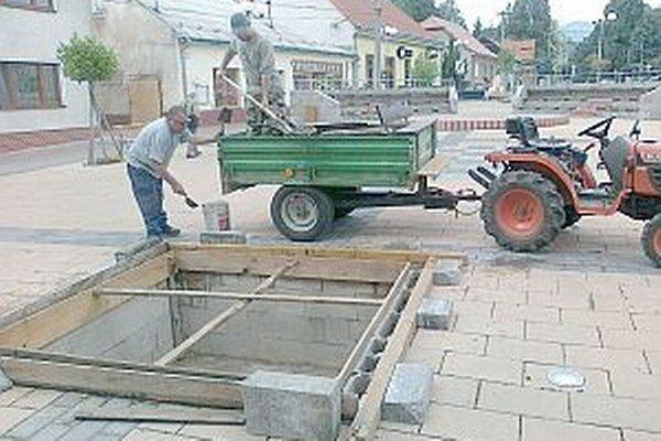 Tento rok obnovia v Pruskom dva vodné zdroje.