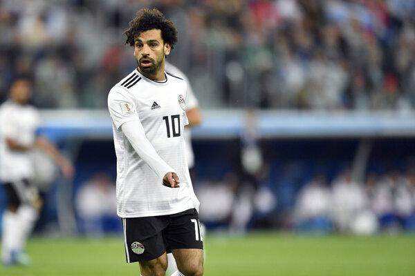 Najväčšia hviezda Egypťanov Mohamed Salah.