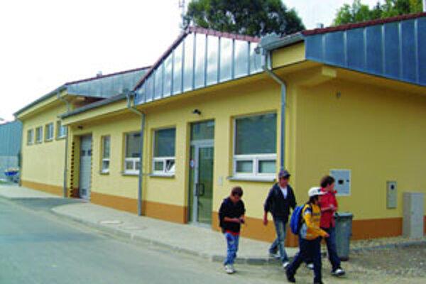 Nová moderná zbrojnica v Terchovej.