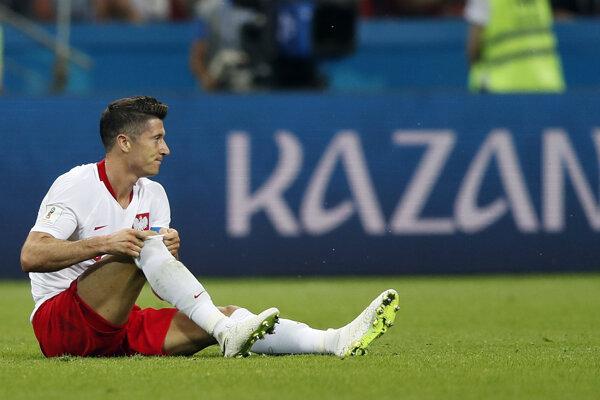 Ani najväčšej poľskej hviezde Robertovi Lewandowskému šampionát nevyšiel.