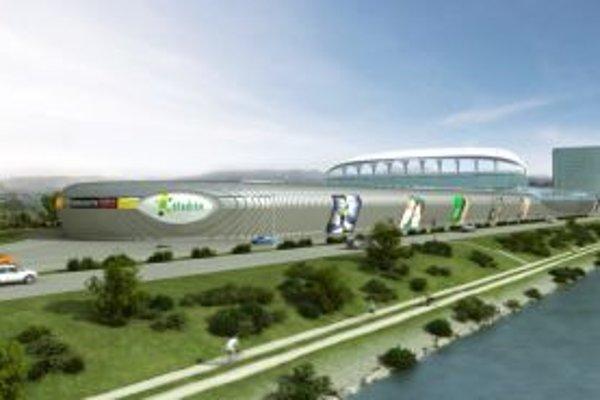 Na futbalovom štadióne v Žiline a v jeho okolí vyrastie moderný komplex Štadión.