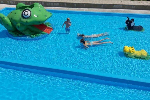 Nový detský bazén na Margite - Ilone.