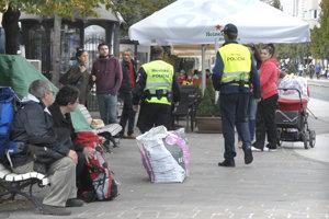 Od začiatku letných prázdnin pribudnú v historickom centre ulici hliadky mestskej aj štátnej polície