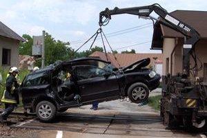V lete 2009 prišiel na priecestí v Hornom Hričove o život muž z tohto auta.