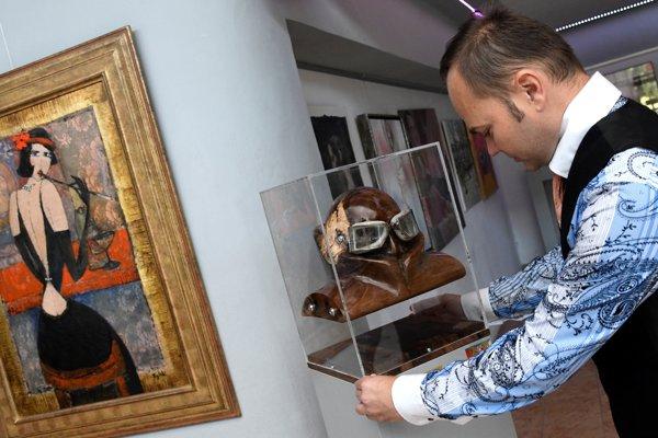 Výstava v Prievidzi.