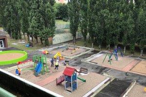 Detské ihrisko v Parku Družba