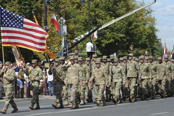 Americkí vojaci. Ilustračné foto