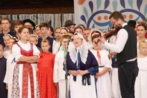 Program Turčanov na Medzinárodnm folklórnom festivale vo Východnej.