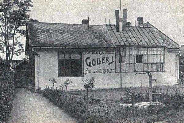 Ateliér Jána Gollera.